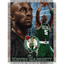 NBA Player Woven Throw Blanket