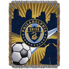 MLS Philadelphia Union Tapestry Throw Blanket