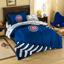 MLB Chicago Cubs 5 Piece Bed in a Bag Set