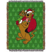 Entertainment Holiday Scooby Holly Scooby Tapestry Throw
