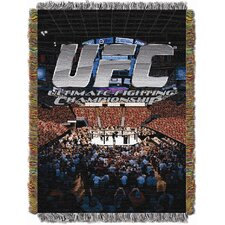 UFC Cage Fight Logo Tapestry Throw