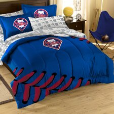MLB Philadelphia Phillies Embroirdered Full Comforter Set