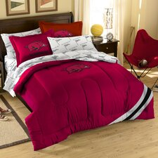 College NCAA Arkansas Full Comforter Set