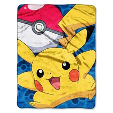 <strong>Northwest Co.</strong> Pokemon Micro Raschel Polyester Throw