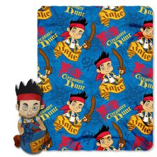 Jake and the Neverland Pirates Polyester Fleece Throw