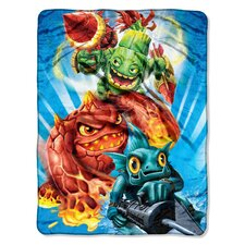 Skylanders Giants Micro Raschel Polyester Throw