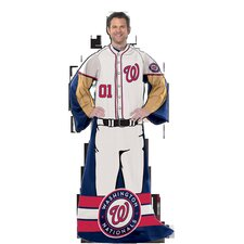 MLB Washington Nationals Polyester Fleece Comfy Throw