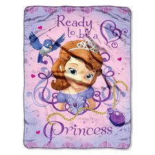 Sofia the First Micro Raschel Polyester Throw