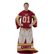 NFL Kansas City Chiefs Polyester Fleece Comfy Throw