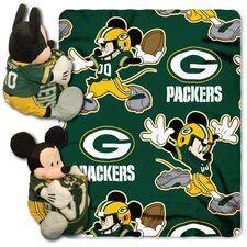 NFL Mickey Mouse Fleece Throw