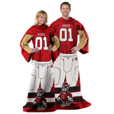 College NCAA North Carolina Polyester Fleece Comfy Throw