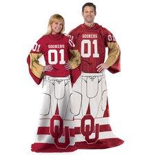 College NCAA Oklahoma Polyester Fleece Comfy Throw