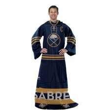 NHL Buffalo Sabres Full Body Comfy Polyester Throw