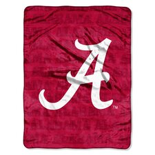 NCAA Micro Raschel Throw Blanket