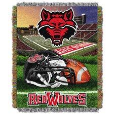 NCAA Arkansas State Tapestry Throw
