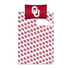 College NCAA Oklahoma Sheet Set