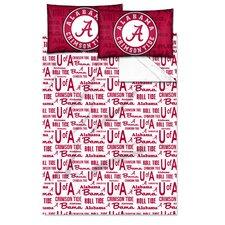 College NCAA Alabama Sheet Set