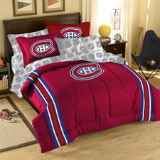NHL Montreal Canadiens 3 Piece Comforter Set