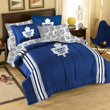NHL Toronto Maple Leafs Bed in a Bag Set