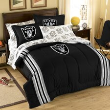 NFL Oakland Raiders Bed in a Bag Set