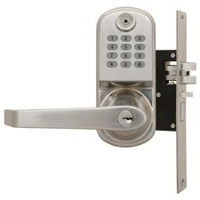 <strong>LockState</strong> ResortLock™ Mortise Latch for Remote Code Lock