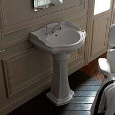 "Retro 27"" Bathroom Vanity Set with Single Sink"