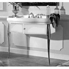 """Retro 39.4"""" Ceramic Bathroom Vanity Set"""