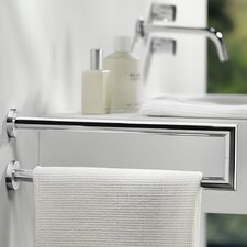 Kubic Cool Wall Mounted Double Lateral Towel Bar