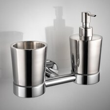 Napie Wall-mount Tumbler and Soap Dispenser