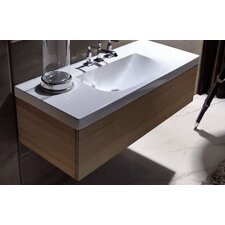 "Bentley 39.4"" Wood Bathroom Vanity Set"