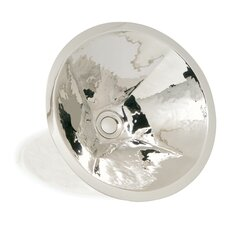 <strong>WS Bath Collections</strong> Metal Round Hand Crafted Bathroom Sink