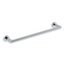 "<strong>WS Bath Collections</strong> Baketo 23.6"" Towel Bar in Polished Chrome"