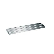 "<strong>WS Bath Collections</strong> Skuara 23.6""  Double Towel Bar in Polished Chrome"