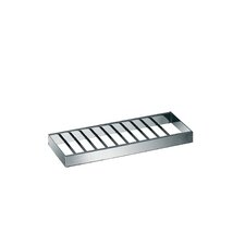 "Skuara 11.8"" Shelf in Polished Chrome"