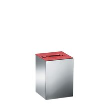 "Complements 8.9"" x 8.9"" Secioni Waste Basket with Lid"