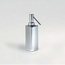 "Complements 2"" x 2"" Metric Free Standing Soap Dispenser in Polished Chrome"