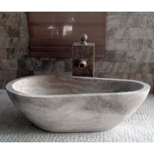 "Piedra Pavo 60"" x 37.5"" Bathtub"