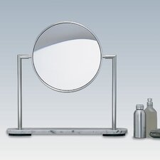 <strong>WS Bath Collections</strong> TS1 Freestanding Magnifying (5X) Makeup Mirror