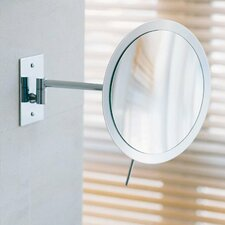 <strong>WS Bath Collections</strong> Mirror Pure Wall-mount Round Magnifying (3X) Makeup