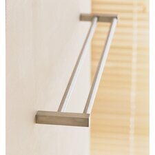 <strong>WS Bath Collections</strong> Metric Double Towel Bar