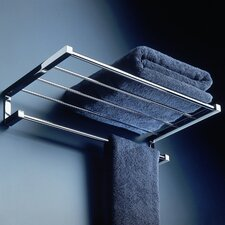 <strong>WS Bath Collections</strong> Metric Towel Bar and Shelf