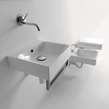 Kerasan Cento Wall Mounted / Vessel Bathroom Sink