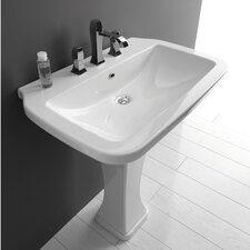 <strong>WS Bath Collections</strong> Ceramica Valdama Nova Wall Mounted / Vessel Bathroom Sink