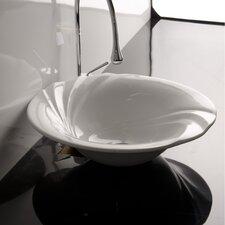 Ceramica Valdama LVT Vessel Bathroom Sink