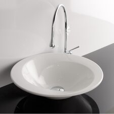 <strong>WS Bath Collections</strong> Ceramica Valdama LVT Vessel Bathroom Sink