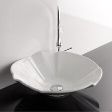 Ceramica Valdama LVT Vessel Bathroom Sink