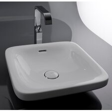<strong>WS Bath Collections</strong> Ceramica Valdama Start Wall Mount Bathroom Sink