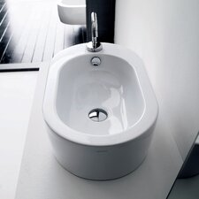 <strong>WS Bath Collections</strong> Kerasan Flo Vessel Bathroom Sink