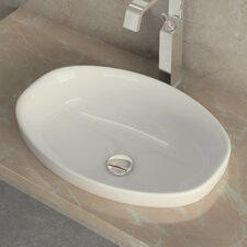 <strong>WS Bath Collections</strong> Ceramica I Self Rimming Bathroom Sink