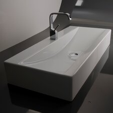 <strong>WS Bath Collections</strong> Ceramica Valdama LVR Wall Mounted / Vessel Bathroom Sink